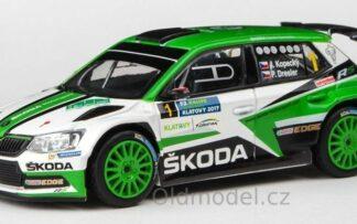 Škoda Fabia III R5 (2015) 1:43 - Rallye Šumava 2017 #1 Kopecký - Dresler