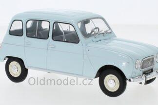 model autíčka Renault 4L, měř. 1:24, Světle modrý