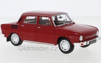 Modely autíček Škoda 100L, 1974, 1:24
