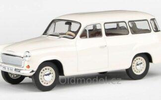 Model autíčka Škoda 1202 (1964) 1:43 - Bílá