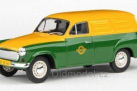 Modely autíček Škoda 1202 Dodávka (1965) 1:43 - Pojízdná Prodejna