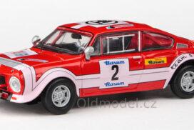 Model autíčka Škoda 200RS (1974) 1:43 – Barum Rallye 1974 #2 Horsák – Motal