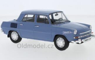 Modely autíček Škoda 1000 MB 1969, 1:24
