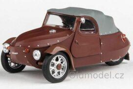 Model Velorex 16/350 (1966) 1:43 - Hnědá/Šedá/Hnědá