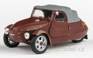 Modely autíček Velorex 16/350 (1966) 1:43 - Hnědá/Šedá/Hnědá