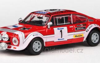Škoda 200RS (1974) 1:43 - Barum Rallye 1975 #1 Šedivý - Janeček