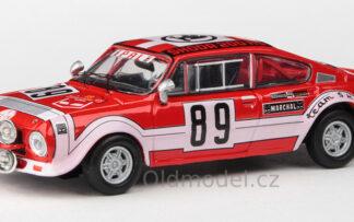 Škoda 200RS (1974) 1:43 - Rallye Šumava 1975 #89 Šedivý - Janeček
