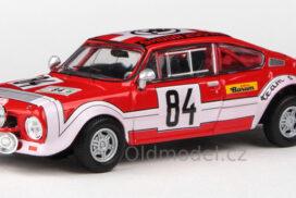 Škoda 200RS (1974) 1:43 – Rallye Jeseníky 1974 #184 Šedivý – Janeček