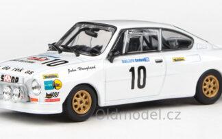 Škoda 130RS (1977) 1:43 - Rallye Škoda 1978 #10 Haugland - Saunders