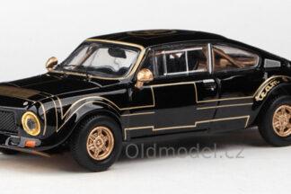 Model autíčka - Abstraktní - Škoda 200RS (1974) 1:43 - Černá