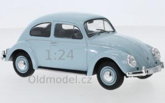 Model autíčka VW Beetle v měřítku 1:24 od výrobce modelů WhiteBox.