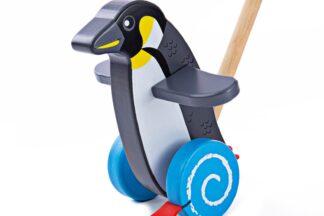 Bigjigs Baby Dřevěný jezdík Tučňák