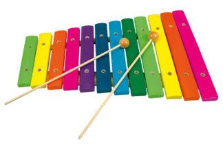 Bino Xylofon 12 tónů