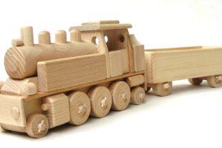 Ceeda Cavity Parní lokomotiva s vagónem