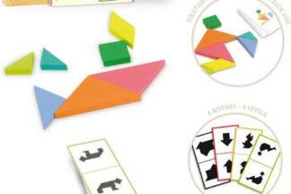 Vilac Hra souboj tangramů