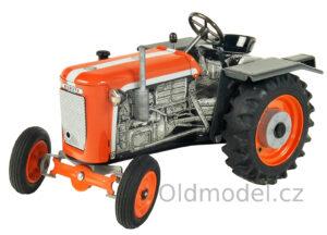 Plechová hračka Traktor Kubota na klíček