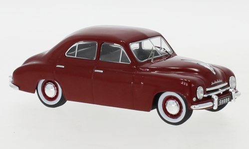 Model autíčka Škoda 1200 - (1952) 1:43 – Sedan